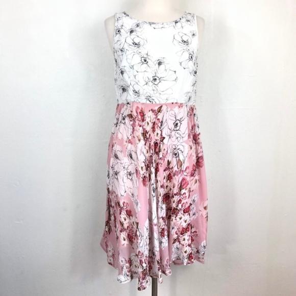 Anthropologie Dresses & Skirts - Varun Bahl Floral Sleeveless Dress - 4P